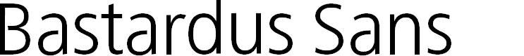 Preview image for BastardusSans Font