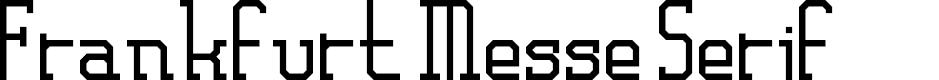 Preview image for Frankfurt Messe Serif