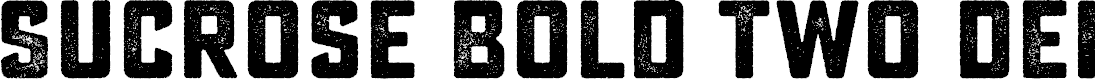 Preview image for Sucrose Bold Two DEMO Font