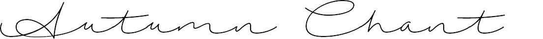 Preview image for AutumnChant Font
