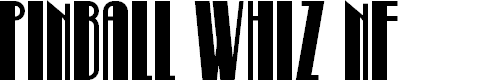 Preview image for Pinball Whiz NF Font