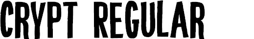 Preview image for DK Crypt Regular Font