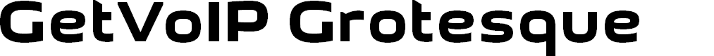 Preview image for GetVoIP Grotesque