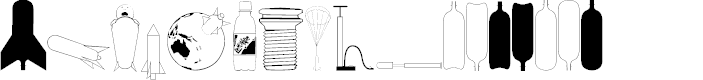 Preview image for Water Rocket PG Font