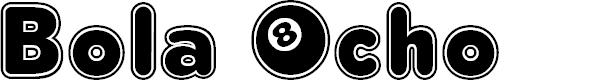 Preview image for Bola Ocho FFP Font