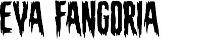 Preview image for Eva Fangoria Font