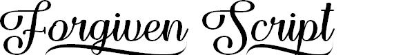 Preview image for Forgiven Script Regular
