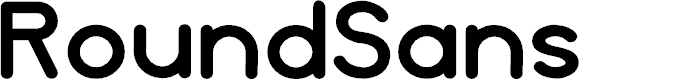 Preview image for RoundSans Font