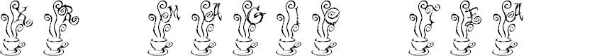 Preview image for KR Magic Tea Font
