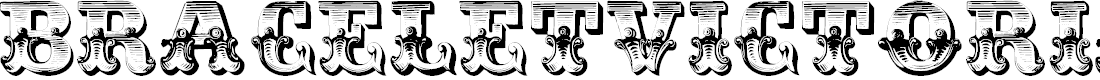 Preview image for BraceletVictorian Font