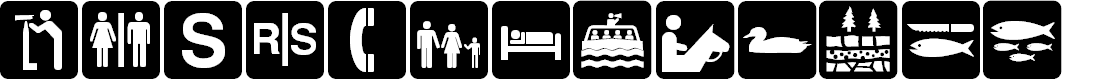 Preview image for DNR Recreation Symbols