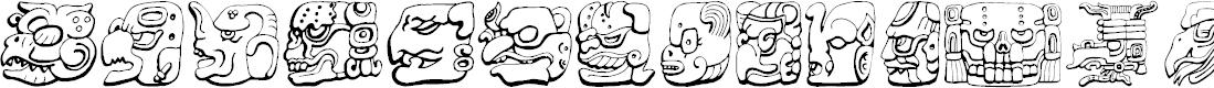 Preview image for Ny Maya Font