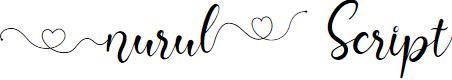Preview image for Nurul Script Font
