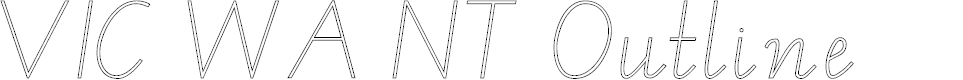 VIC Font - FontSpace