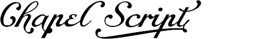 Preview image for Chapel Script Alt PERSONAL USE