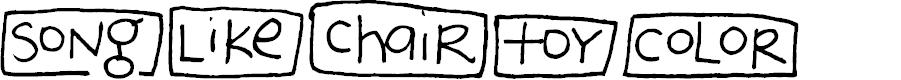 Preview image for 2Peas Blocks - Favorites Font