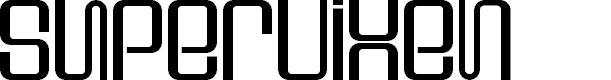 Preview image for Supervixen Font