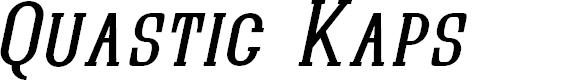 Preview image for Quastic Kaps Italic