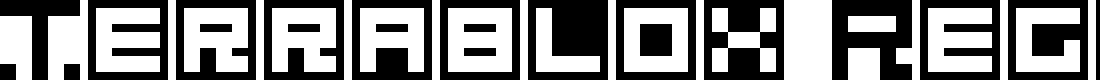Preview image for Terrablox Regular Font