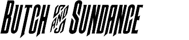 Preview image for Butch & Sundance Condensed Italic