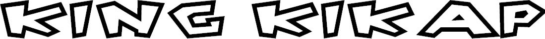 Preview image for King Kikapu Font