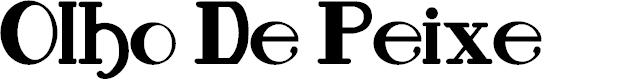Preview image for Olho De Peixe Font