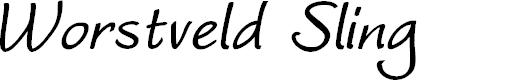 Preview image for Worstveld Sling Bold Oblique