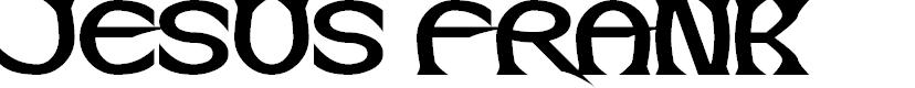 Preview image for Jesus Frank Font