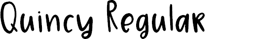 Preview image for Quincy Regular Font