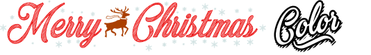 Preview image for Merry Christmas Color Regular Font