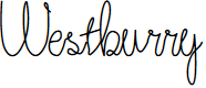 Preview image for Westburry Font