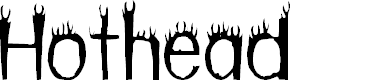 Preview image for Hothead Font