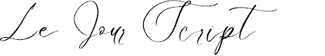 Preview image for Le Jour Script Font