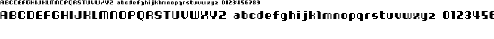 Preview image for Cheese10bit Font