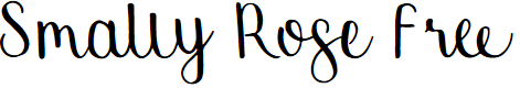 Preview image for Smally Rose Free Font
