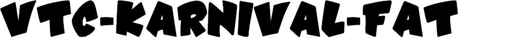 Preview image for VTC-Karnival-Fat Font