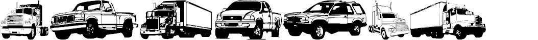 Preview image for Trucks for Judy *S* Font