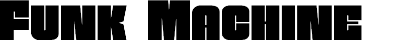 Preview image for Funk Machine Regular Font