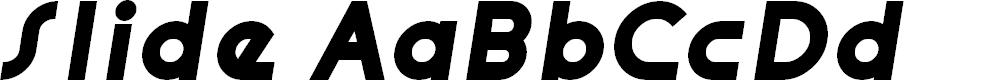 Preview image for Slide Font