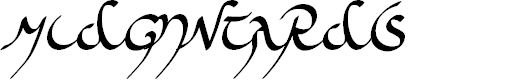 Preview image for Midjungards Font