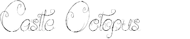 Preview image for Castle Octopus Font