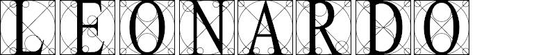 Preview image for Leonardo Font
