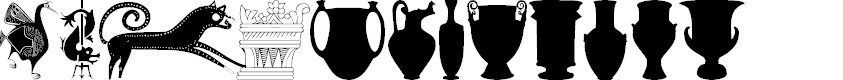 Preview image for 101! Ancient Greece Font