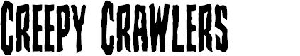Preview image for Creepy Crawlers Condensed