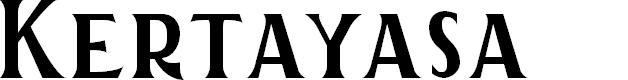 Preview image for Kertayasa Font