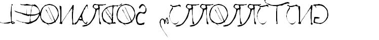 Preview image for Leonardos mirrorwriting