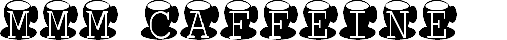 Preview image for AEZ mmm caffeine Font