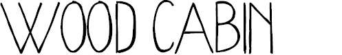Preview image for WoodCabin Font