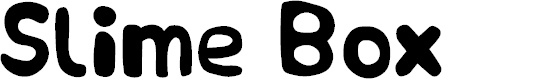 Preview image for Slime Box Font