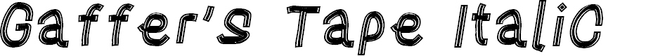 Preview image for Gaffer's Tape Italic
